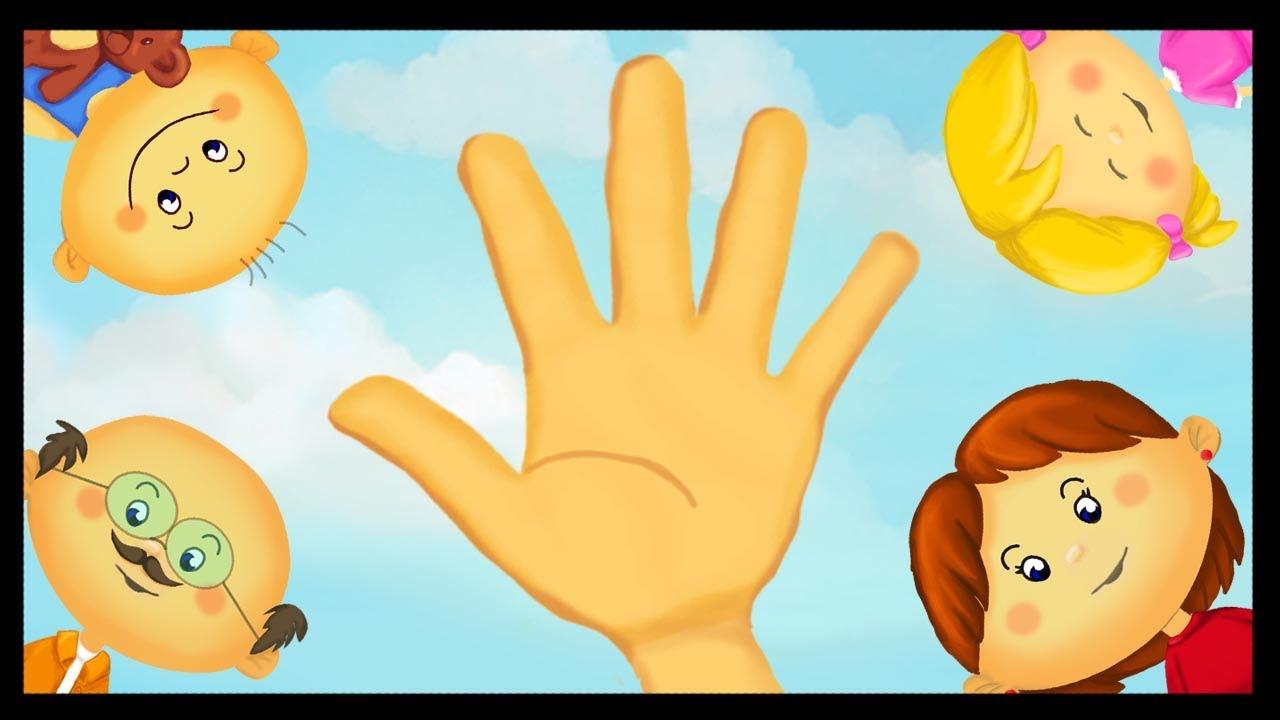 Apprendre les doigts de la main youtube - Dessin main enfant ...