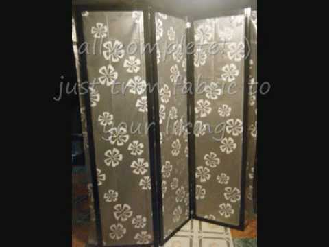 Paper mache dividers room divider by john quan for How to make your own room divider
