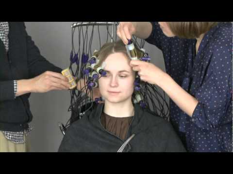 Digital Perm London At Earth Hairdressing Youtube