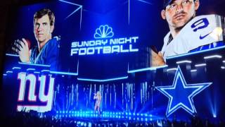 2015 Sunday Night Football Intro: New York Giants vs Dallas Cowboys
