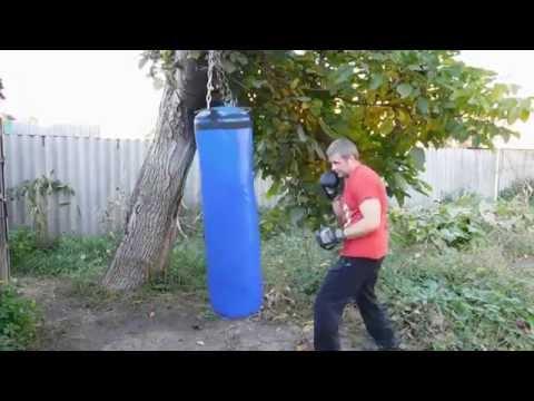 Боксерский мешок(груша) своими руками из ПВХ ткани не хуже чем с магазина.
