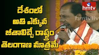 KCR In TRS Sircilla Praja Ashirvada Sabha | Telangana Elections 2018