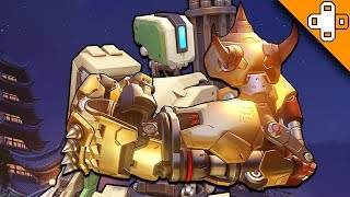ONE PUNCH BASTION! Overwatch Funny & Epic Moments 492