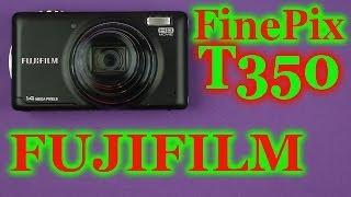 Распаковка Fujifilm FinePix T350 Black