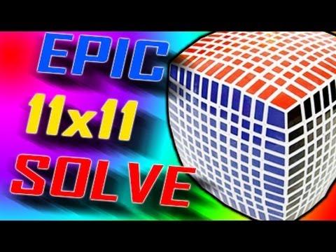 EPIC 11x11 solve! [33 minutes!]