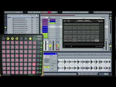 Novation Launchpad advanced configuration (drumpad) - Part 2 - The DSP Project