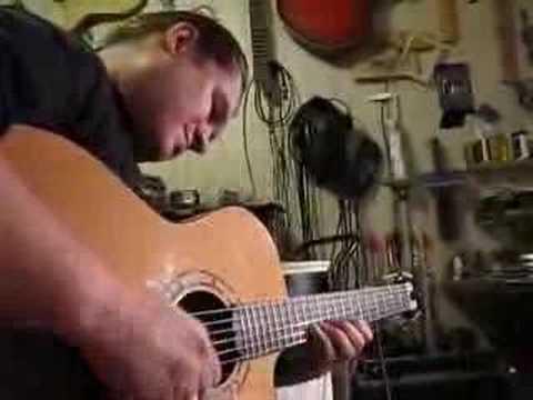 Roman Miroshnichenko plays on Wechter guitar unplugged#2