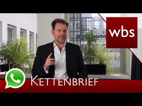 Warnung vor WhatsApp Kettenbrief – Abmahnungen können folgen! | Rechtsanwalt Christian Solmecke