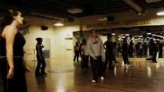 "Tari Mannello Choreography to Lindsey Lohan ""Rumors"" at Gold's Gym, 2005"