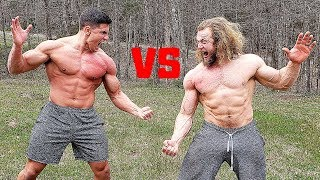 You BLEED You LOSE - Slapping Competition VS Jujimufu | Bodybuilder VS Bodybuilder Slap Contest