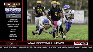 WI57 | The Sports News | Supercharge Foods WIAA Football News | 11-11-18
