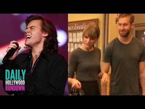 Harry Styles Breaks Down Over Zayn Leaving 1D - Taylor Swift's Date With Calvin Harris? (DHR)