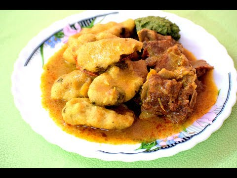 Thirunelveli Thakkadi Recipe in Tamil| Dumplings in meat sauce