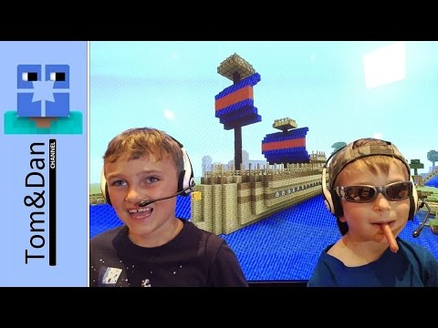 Minecraft - Tom and Dan in Ship Shape [14]