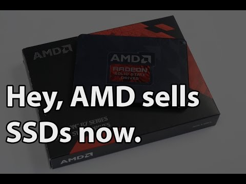 AMD Radeon R7 480GB SATA SSD Full Review - Gaming Barefoot