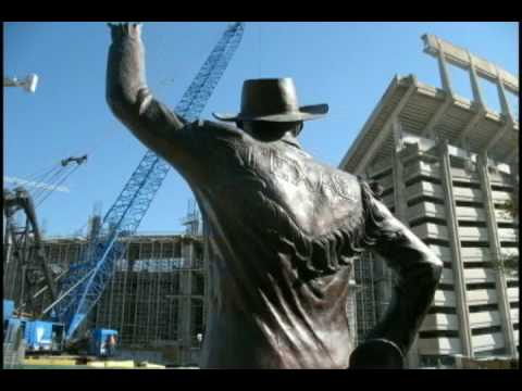 Photo Time Lapse - University of Texas Longhorn Football DKR Memorial Stadium Construction Video