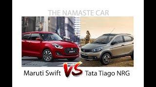 Tata tiago NRG VS Maruti Suzuki swift