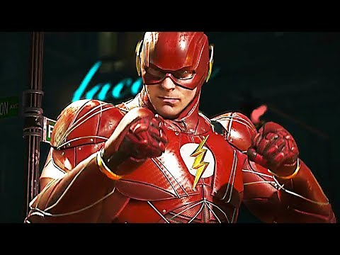 INJUSTICE 2 With The JUSTICE LEAGUE Trailer (2017) PS4 / Xbox One / PC / Mobile
