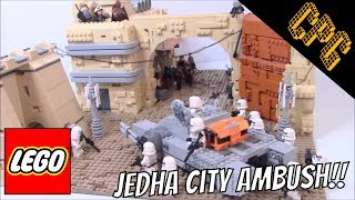 Lego Star Wars Battle of Jedha City MOC!