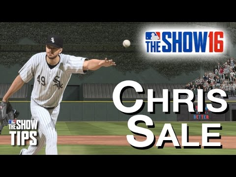 MLB The Show 16  - CHRIS SALE pitching breakdown