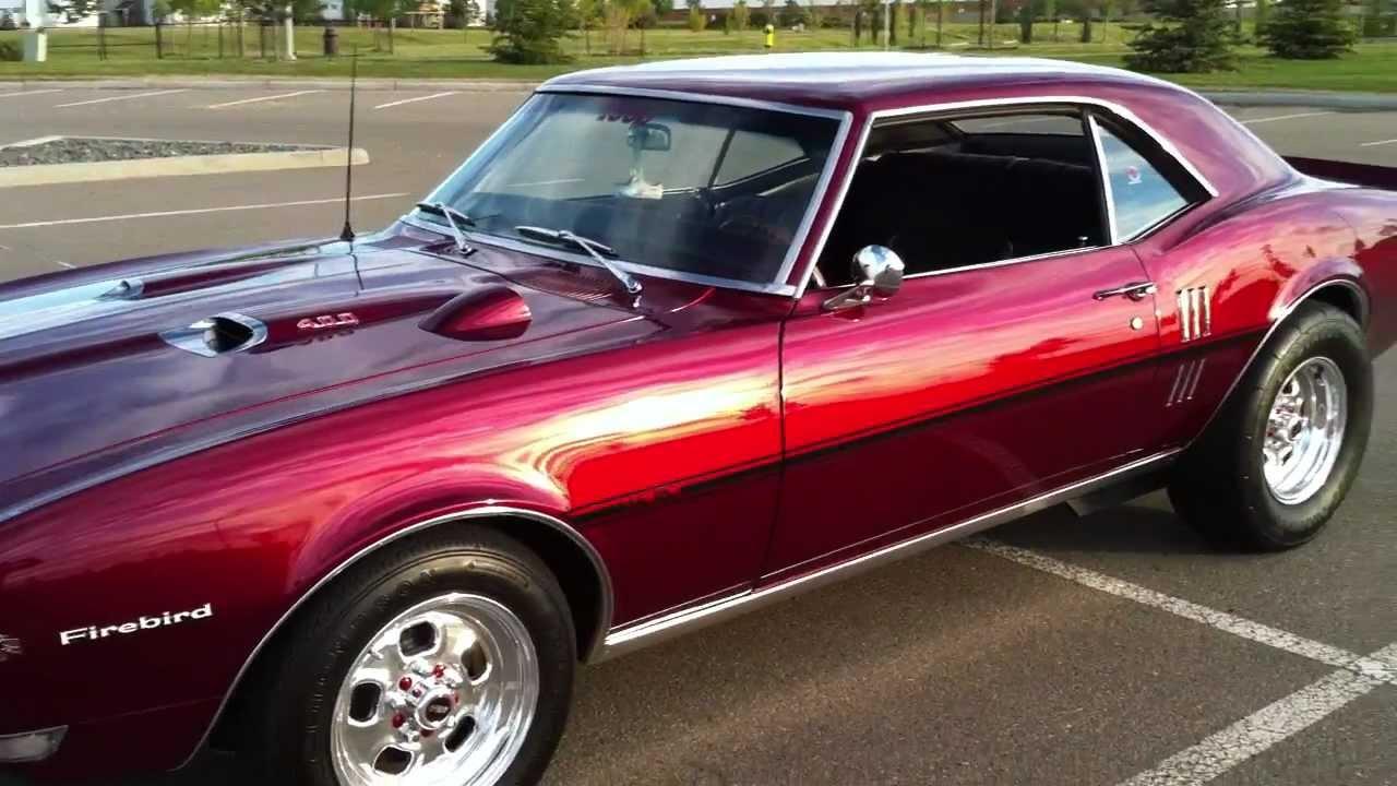 1968 Pontiac Firebird Ready For Saturday Cruise Youtube