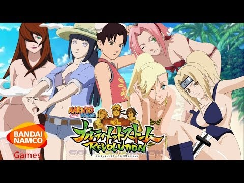 Naruto Ultimate Ninja Storm Revolution: Bikini DLC + New Gameplay