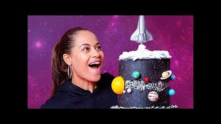 A GALAXY... Made Of CAKE | Fault Line Cake | How To Cake It with Yolanda Gampp