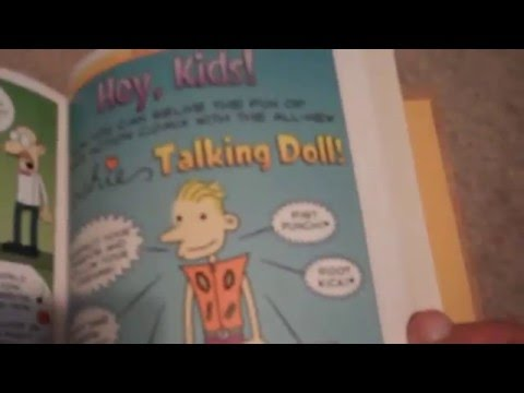 diary of a wimpy kid do-it- yourself book review