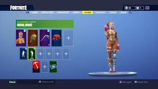 I NOW HAVE EVERY CHRISTMAS SKIN!! (GINGER GUNNER, NOG OPS, AND CANDY AXE) FORTNITE LOCKER