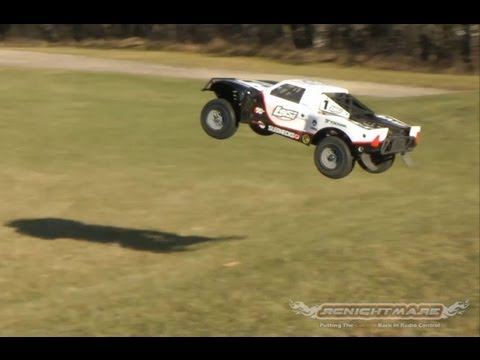 Losi 1/5 5IVE-T 4WD SCT Running RC Truck Video