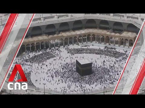 Download  Saudi Arabia reopens two holy sites after coronavirus sterilisation Gratis, download lagu terbaru