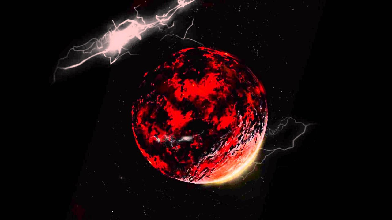 Fire Planet Real 3d