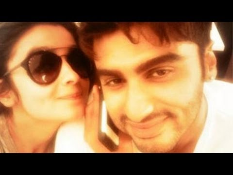 Alia Bhatt & Arjun Kapoor's Sexy Candid Images On Instagram video