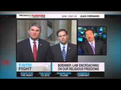 Senators Marco Rubio & Joe Manchin on MSNBC