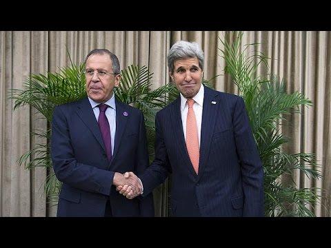 محادثات بين كيري ولافروف بشأن الوضع شرقي أوكرانيا