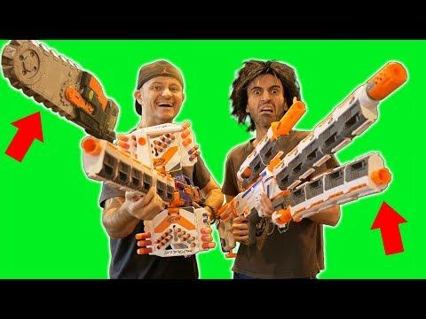 NERF Big BAD Blasters 4.o