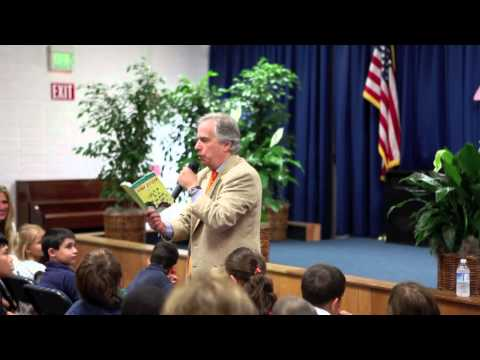 Henry Winkler visits The Prentice School