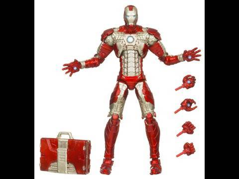 Iron Man 2 Mark V Armor Iron Man 6 Inch Walmart Exclusive Movie Series Figure Toy Review