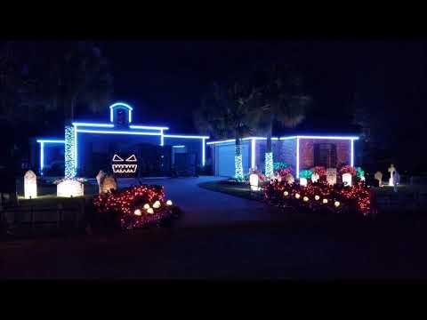 2017 Halloween Light Show Heathens Twenty One Pilots