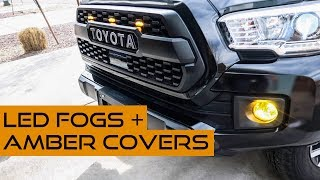 Must have Tacoma mods to see better at night & through snow, rain and fog!