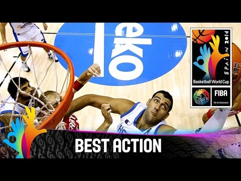 Greece v Croatia - Best Action - FIBA 2014 Basketball World Cup