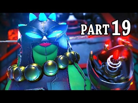 Ratchet and Clank PS4 Gameplay German #19 - Boss Misses Zurkon - Let's Play Ratchet and Clank
