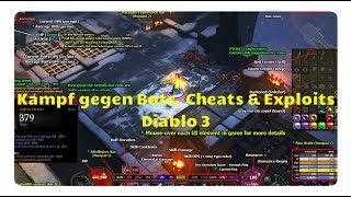 Diablo 3: Kampf gegen: Hacks, Bots, Cheats & Exploits (TurboHUD)