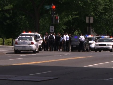 Armed Person Shot by Secret Service Officer