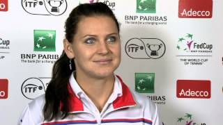 2014 Fed Cup Final | Official Fed Cup - Interview Lucie Safarova