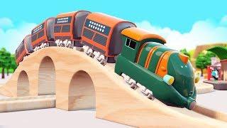 chu chu train - train cartoon for kids - toy train videos for kids - Toy Train videos