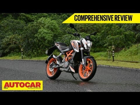 KTM 390 Duke   Comprehensive Review   Autocar India