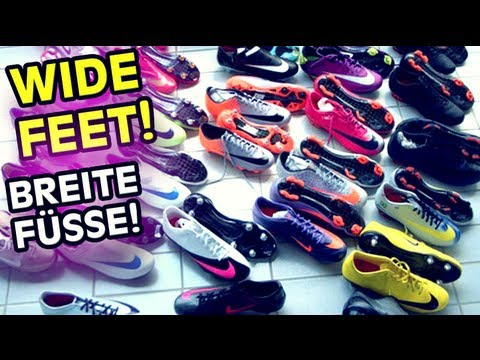 TOP 3 - Best Soccer Cleats Football Boots For Wide Feet | freekickerz