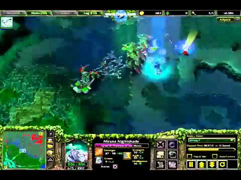 Warcraft 3 frozen throne 126a + garena plus (2012) linux