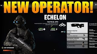 NEW ECHELON OPERATOR SHOWCASE! | Weapons, Abilities, & MORE! | Ghost Recon Wildlands PVP